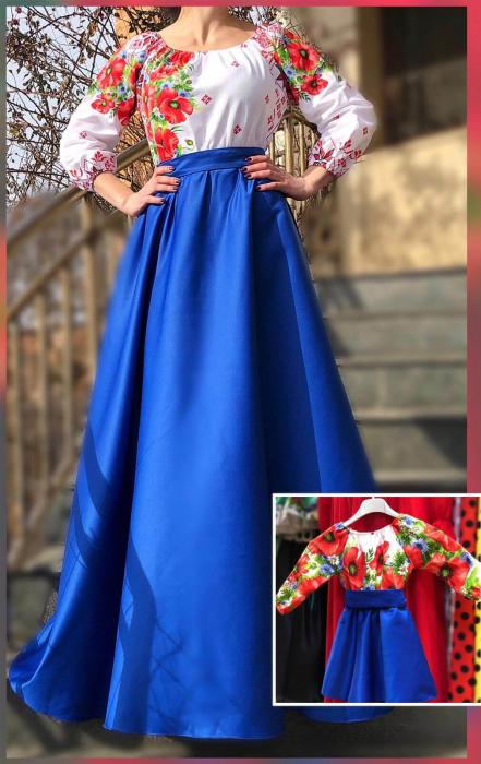 Set rochii stilizate traditional -Mama si Fiica - model 10 [0]