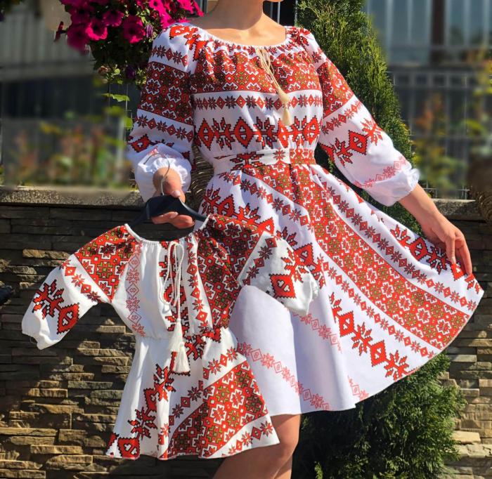 Set rochii stilizate traditional - Mama si Fiica - model 11 [0]