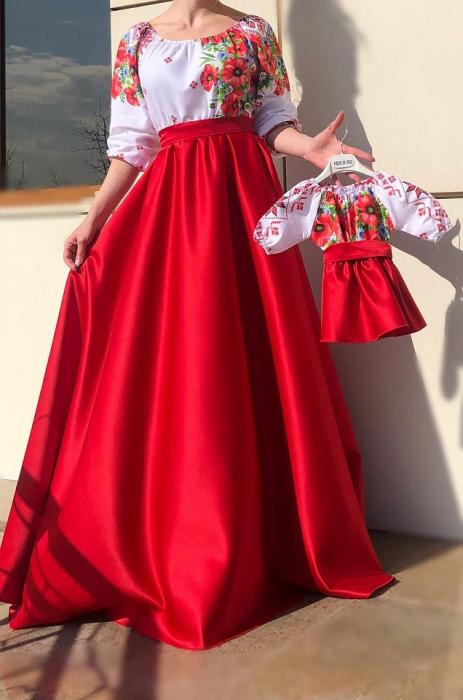 Set rochii stilizate traditional -Mama si Fiica - model 2 [1]