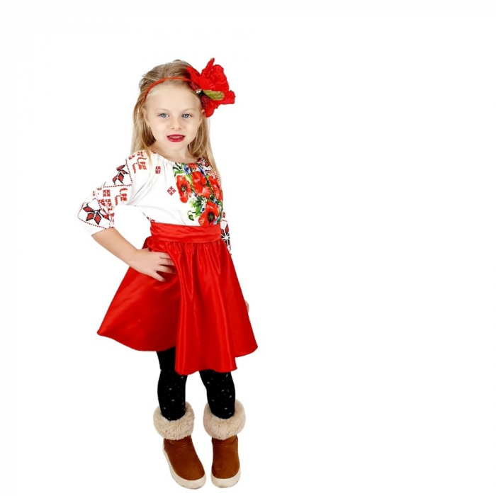 Set rochii stilizate traditional -Mama si Fiica - model 2 [2]