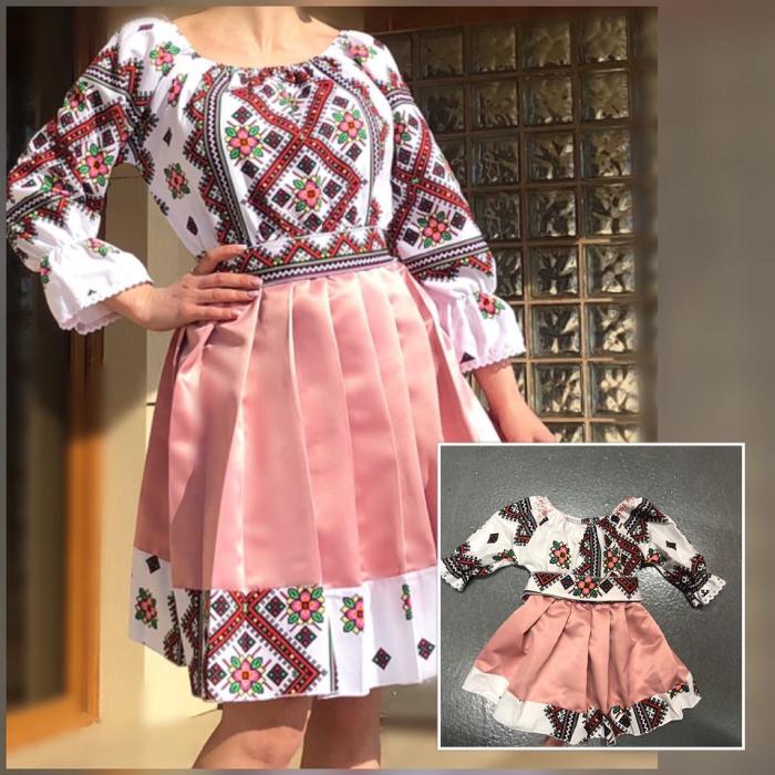 Set rochii stilizate traditional - Mama si Fiica - model 4 [0]