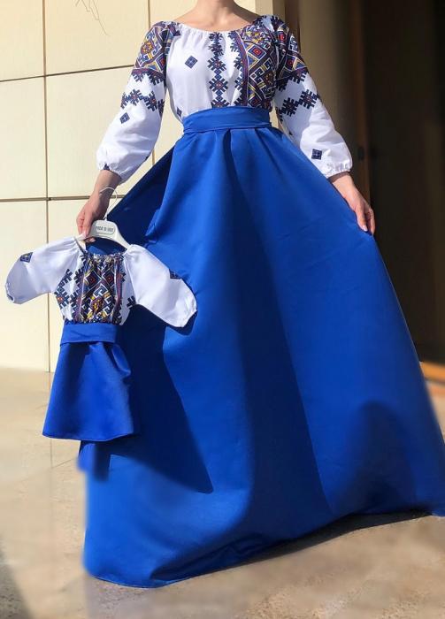 Set rochii stilizate traditional -Mama si Fiica - model 5 [0]