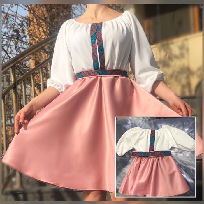 Set rochii stilizate traditional - Mama si Fiica - model 7 [0]