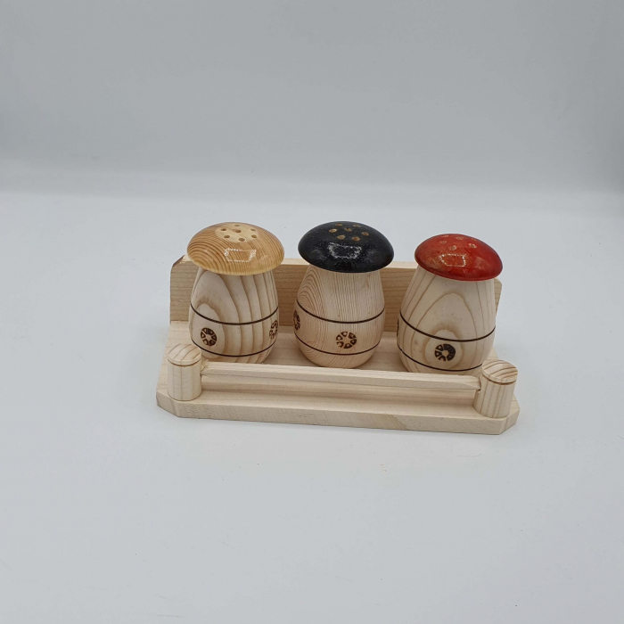 Solnita din lemn - Ciupercute 2 [0]