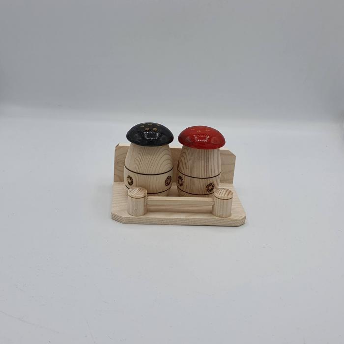 Solnita din lemn - Ciupercute [0]