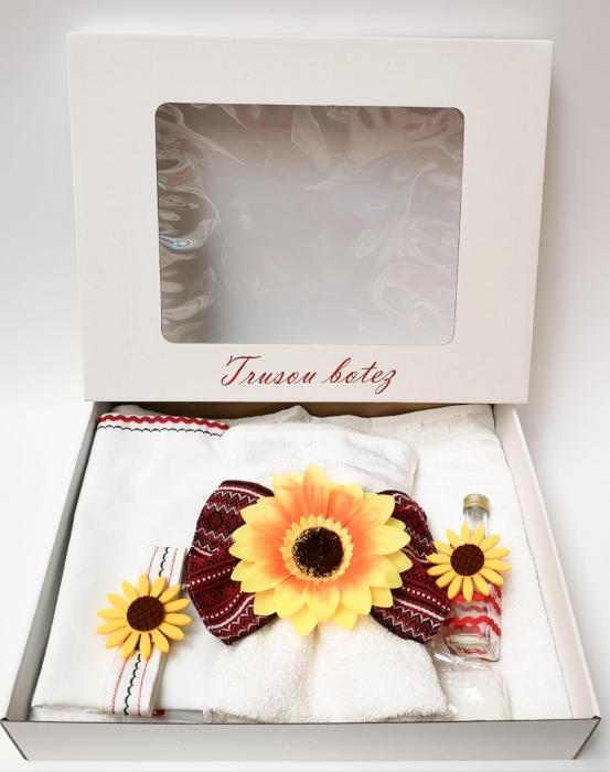Trusou Botez - Motive Traditionale Floarea Soarelui [0]