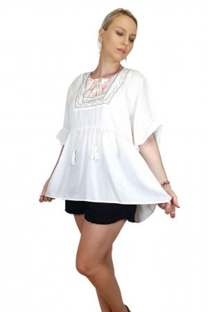 Bluza cu broderie traditionala Ema 3 [0]