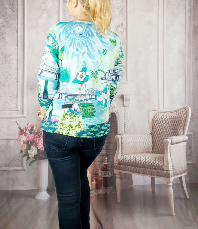 Bluza cu imprimeu- Flaviana 11 [1]