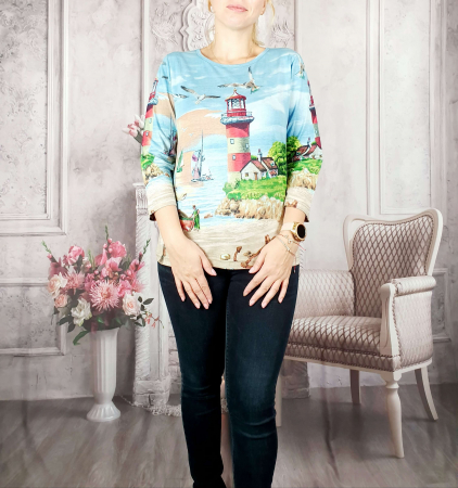 Bluza cu imprimeu- Flaviana [0]