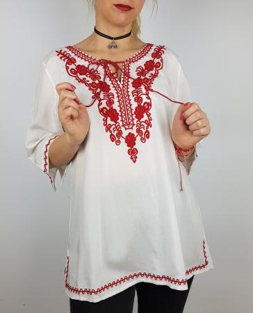 Bluza cu tematica traditionala Violeta0