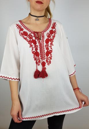 Bluza cu tematica traditionala Violeta3