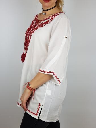 Bluza cu tematica traditionala Violeta2