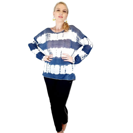 Bluza de dama cu imprimeu, maneci lungi (3) [0]