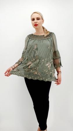 Bluza din matase Coralia 140