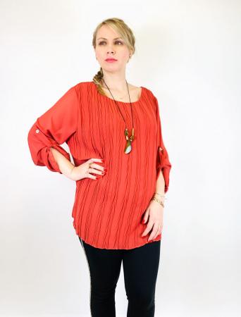 Bluza plisata Caramiziu Camelia [0]