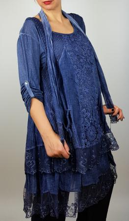 Bluza/rochie lunga Flori 2 [2]
