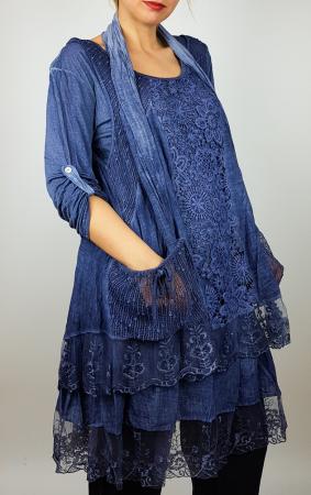 Bluza/rochie lunga Flori 2 [1]