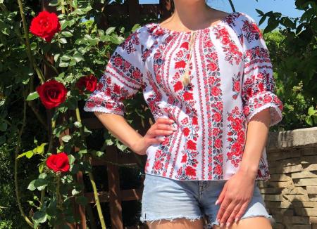 Bluza stilizata cu motive traditionale Daniela 10 [0]