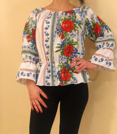 Bluza stilizata cu motive traditionale Daniela 2 [0]