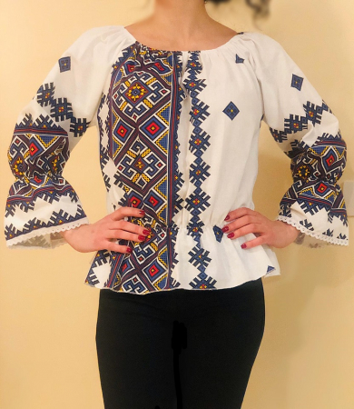 Bluza stilizata cu motive traditionale Daniela 3 [1]