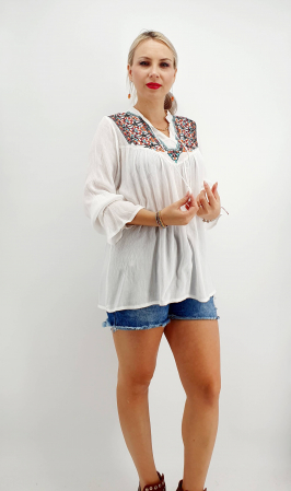 Bluza stilizata traditional Olivia 5 [3]