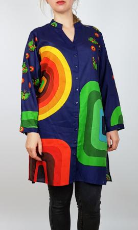 Camasa Lunga Multicolora 2 [0]