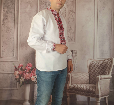 Camasa Traditionala cusuta manual Dinu 10 [1]