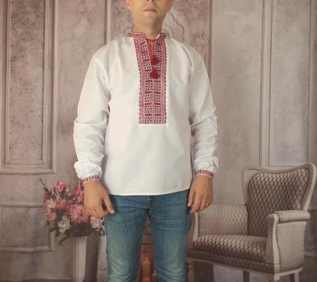 Camasa Traditionala cusuta manual Dinu 10 [0]