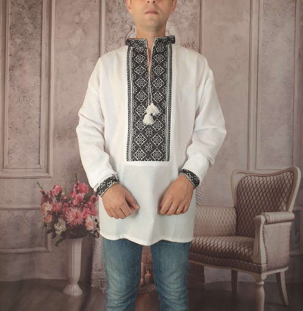 Camasa Traditionala cusuta manual Dinu 11 [0]