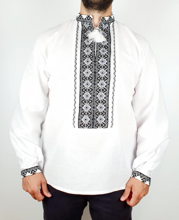 Camasa Traditionala cusuta manual Dinu [1]