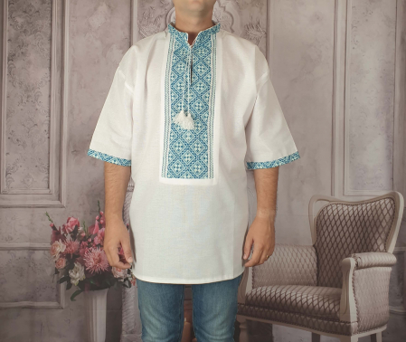 Camasa Traditionala cusuta manual Dinu 2 [0]