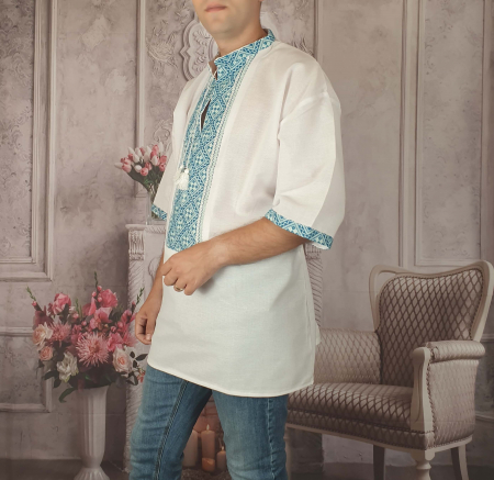 Camasa Traditionala cusuta manual Dinu 2 [1]
