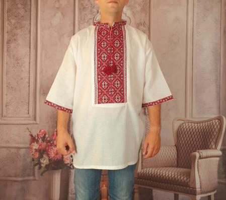 Camasa Traditionala cusuta manual Dinu 7 [0]