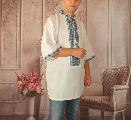 Camasa Traditionala cusuta manual Dinu 8 [1]