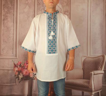 Camasa Traditionala cusuta manual Dinu 8 [0]