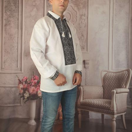 Camasa Traditionala cusuta manual Dinu 9 [1]