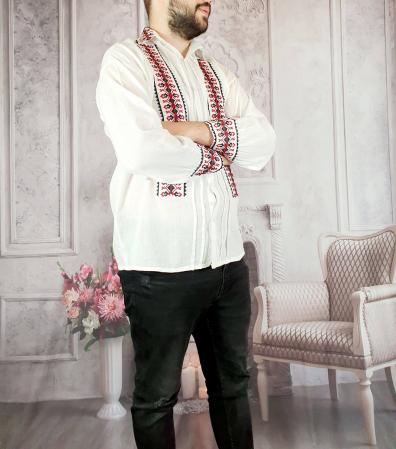 Camasa Traditionala Ionut 4 cu nasturi [2]