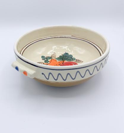 Castron traditional din ceramica de corund [1]