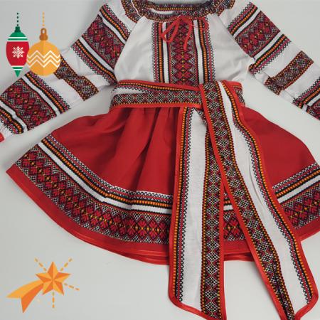 Costum Popular fetite Claudia4