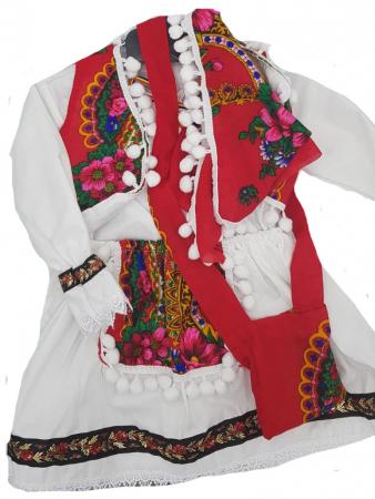 Costum popular fetite Maria format din 5 piese ( 1 ani si 8 ani ) [2]
