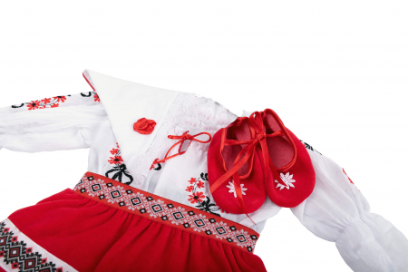 Costum national fete - zona Oltenia /Muntenia [1]