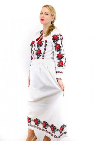 Costum Popular  2 - 5 piese - tip tesut la razboi [1]