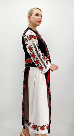Costum Popular  7 - 5 piese - tip tesuta la razboi [1]
