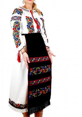 Costum Popular  6 - 4 piese - tip tesuta la razboi [1]