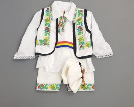 Costum Traditional Baietei 0-12 luni model 2 [0]