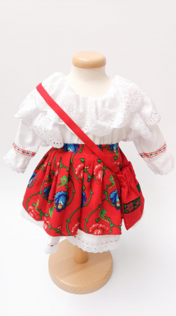 Costum Traditional Fetite 0-12 luni Model II [0]