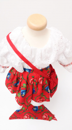 Costum Traditional Fetite 0-12 luni Model II [2]