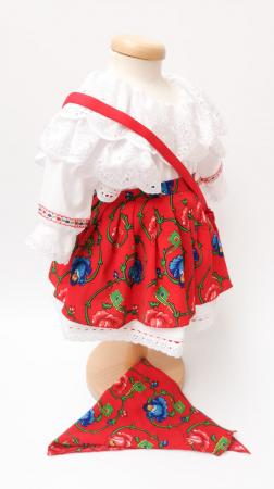 Costum Traditional Fetite 0-12 luni Model II [5]