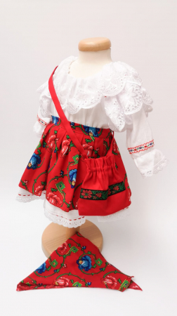 Costum Traditional Fetite 0-12 luni Model II [1]