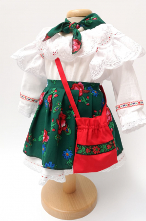 Costum Traditional Fetite 0-12 luni Model III [2]